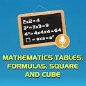 Maths: Tables, Formulas, Squ.. icon