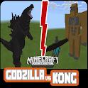 Monster War MOD - Godzilla vs Kong Mods For MCPE icon
