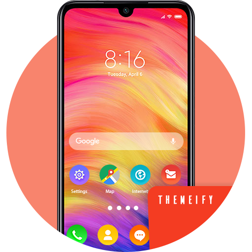 Theme & Launcher For Xiaomi Redmi Note 7 Pro Android APK Download Free By Themeify