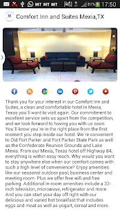 Comfort Inn & Suites Mexia,TX- screenshot thumbnail