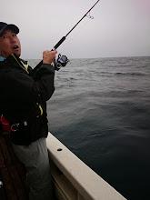 Photo: 連チャンフィーッシュ!・・・」でしたが フックアウト!でした。 たぶん、真鯛だったでしょう。