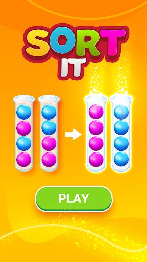 Sort Puzzle: Fun Ball apkpoly screenshots 1