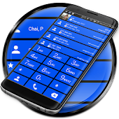 Dialer Cards Cobalt Theme