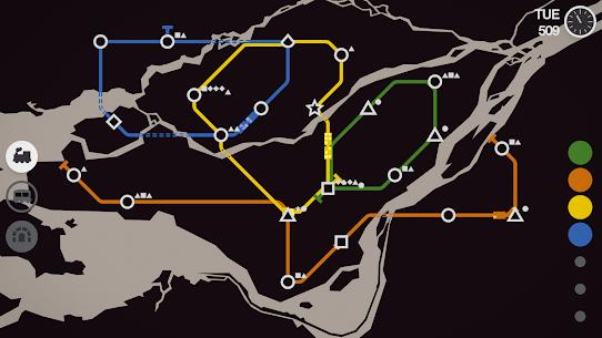 Mini Metro MOD (Unlocked) 5