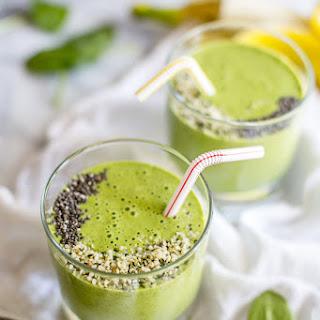 Green Vegan Protein Smoothie