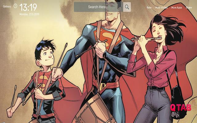 Superman Wallpapers HD Theme
