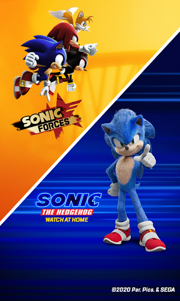 Sonic Forces – Multiplayer Racing & Battle Game Android App Screenshot