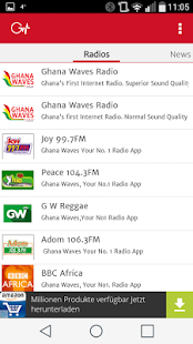 Ghana Waves Radio Stations - náhled