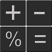 Calculator with percent