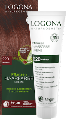 Herbal Hair Colour Cream 220 Wine Red 150 ml