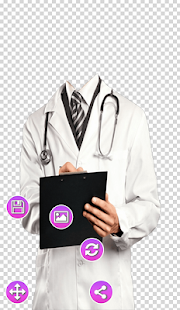 Doctor With Suit Photo Frame - náhled