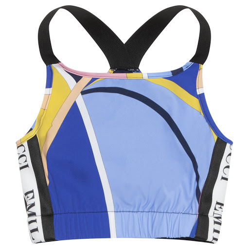 Primary image of Emilio Pucci Patterned Crop Top