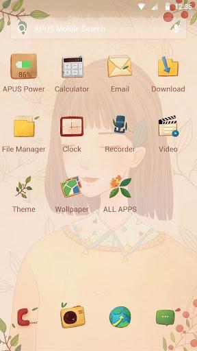 Person-APUS Launcher theme ss2