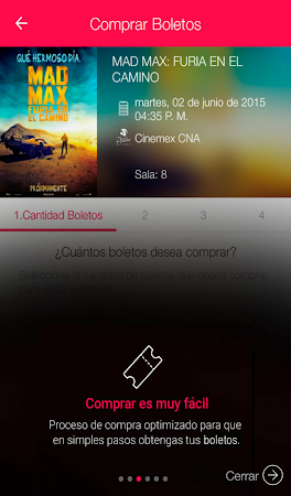 Cinemex 2.0.6 screenshot 236947
