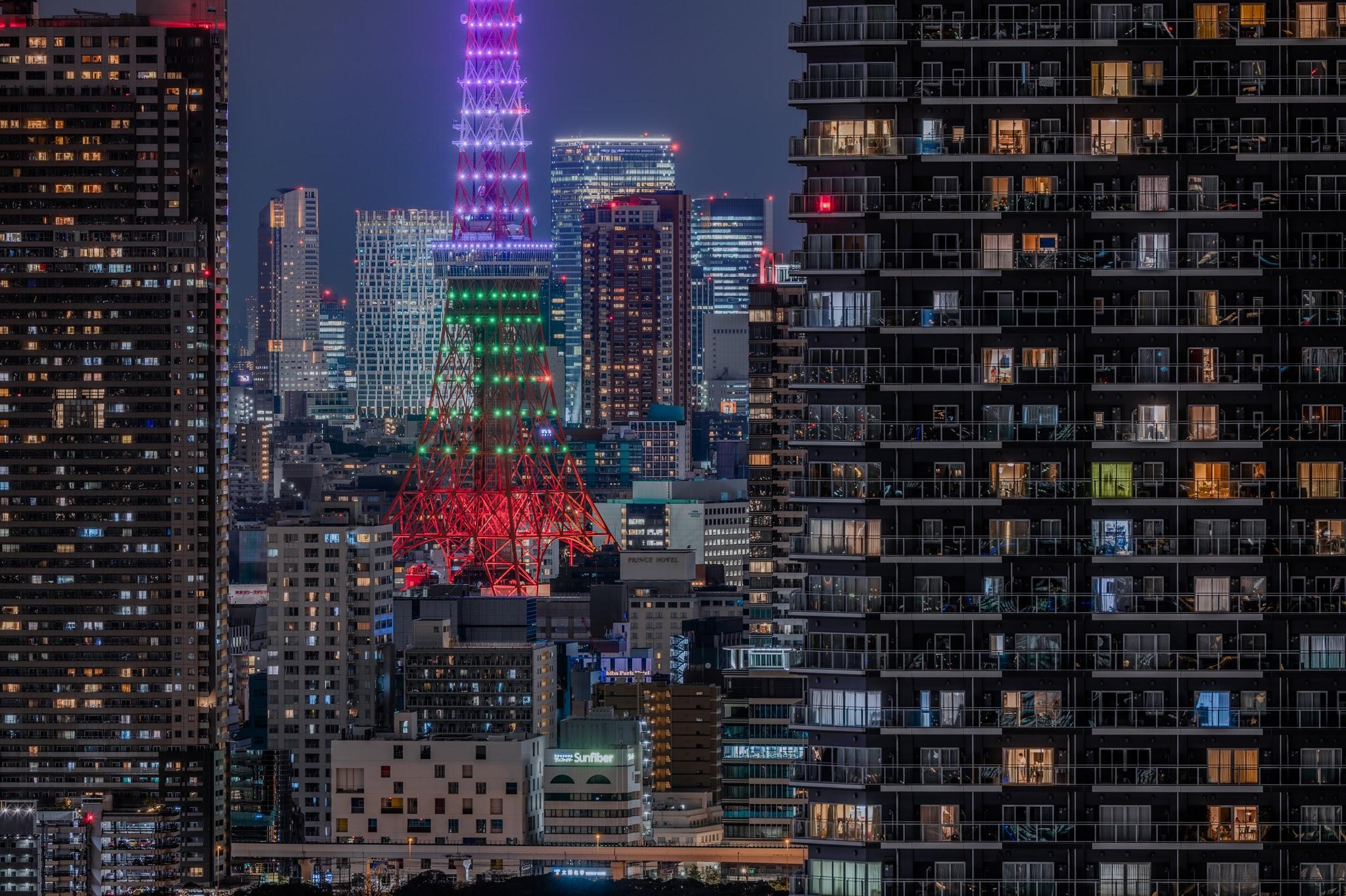 東京 今日 タワー の