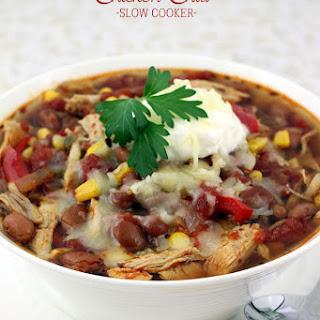 Shredded Chicken Chili Crock Pot Recipes.