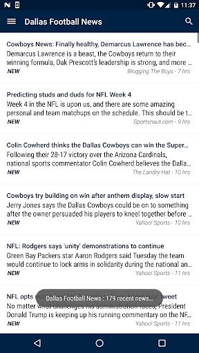 Dallas Football News  screenshots 1