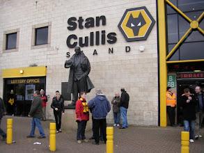 Photo: Stan Cullis statue - Wolverhampton