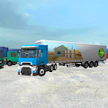 Truck Simulator 3D: Factory Parking