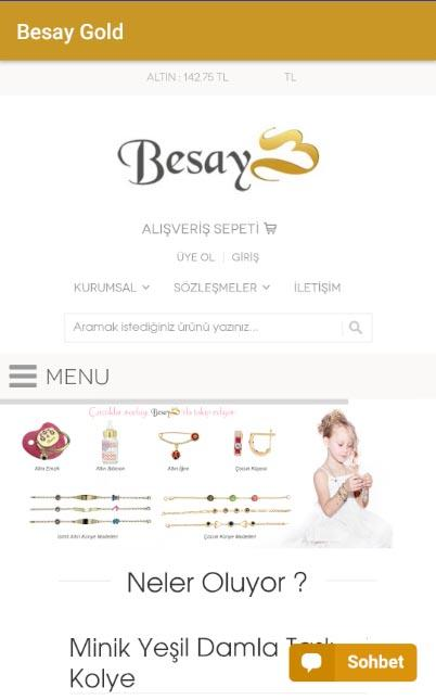 Besay Gold- screenshot
