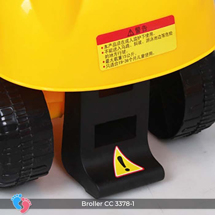 Xe chòi chân có nhạc Broller CC-3378-1 23