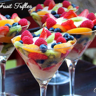 Fruit Trifle.