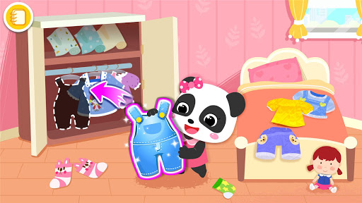 Baby Panda's Life: Cleanup screenshot 9