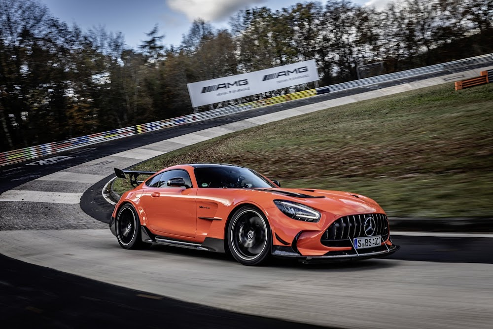 2020 Mercedes-AMG is the new king of Nürburgring