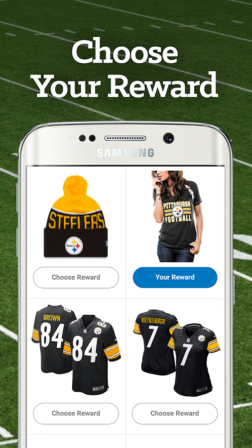 Pittsburgh Football Rewards- screenshot