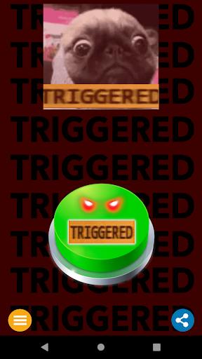 Triggered - Meme Prank Button screenshot 1