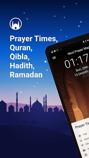 Athan Pro - Azan & Horaires de Prière & Qibla screenshot 1