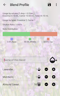 AromaDesk Oil Blending Tool - náhled