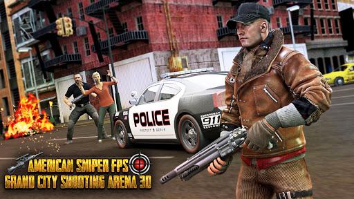 Télécharger FPS Sniper Gun 3D Shooter gratuit Feu: Jeux de tir APK MOD (Astuce) screenshots 1