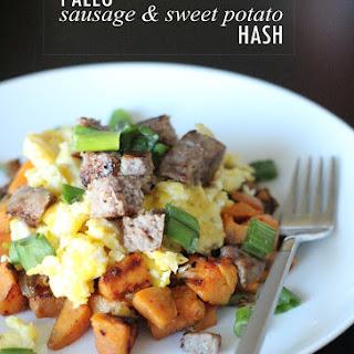 Paleo Sausage and Sweet Potato Hash Recipe