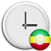 Ethiopia Clock & RSS Widget