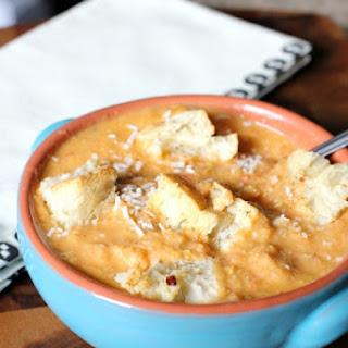 Tomato Corn Chowder with Parmigiano Reggiano