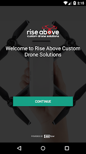 Rise Above Custom Drone Solutions - náhled