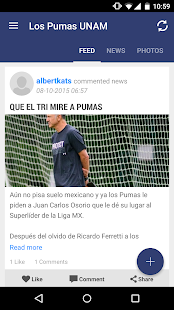 Los Pumas UNAM Universidad- screenshot thumbnail