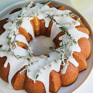 Lemon & Thyme Poppy Seed Bundt Cake