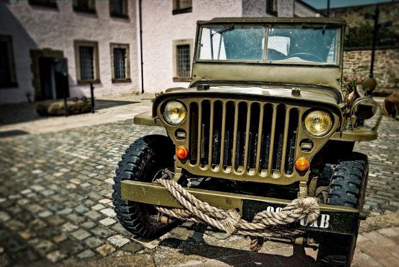 Photo: The GI's Jeep  One for #HDRSunday  and #hdrsunday  curated by +lane langmade  and +Brian Spencer  Taken at the Down County Museum at the start of June. They were commemorating the American GI's at the old Gaol (jail) which was home to the GIs in Downpatrick during World War II.