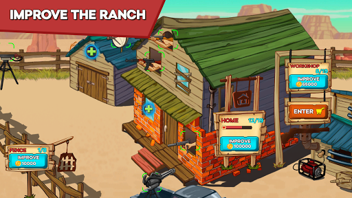 Zombie Ranch - Battle with the zombie 2.0.10 screenshots 2
