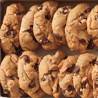 Flourless Peanut Butter-Chocolate Chip Cookies.