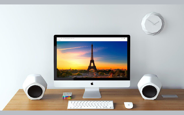 Eiffel Tower New Tab & Wallpapers Collection