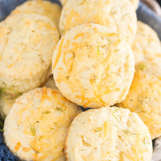 Parmesan Dill Biscuits.
