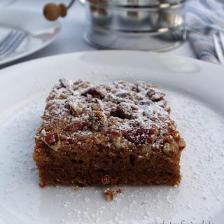 Gluten Free Gingerbread Coffee Cake (13 Ingredients)