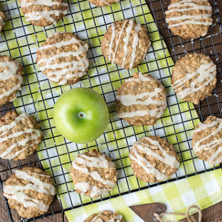 Caramelized Apple Oatmeal Cookies.