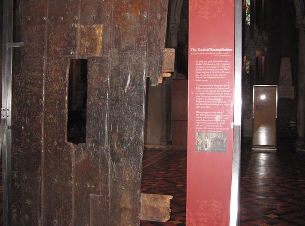 The Door of Reconciliation, St Patrick's Cathedral, Dublin