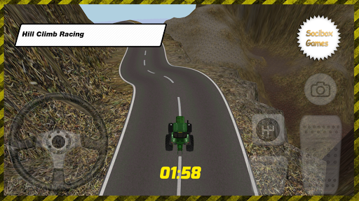 Tractor Hill Climb Racing Game