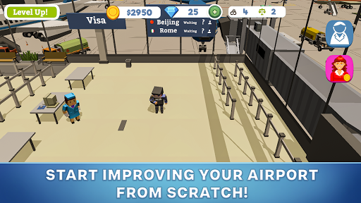 Idle Customs: Protect Airport screenshots 2