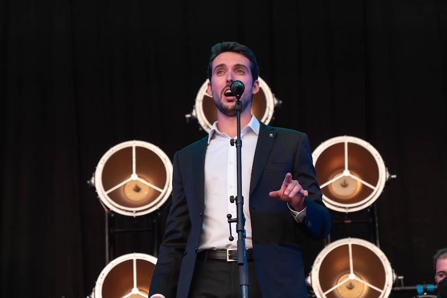 El almeriense derrochó elegancia sobre el escenario del Marble Music Fest